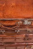 Suitcases. Travel concept.