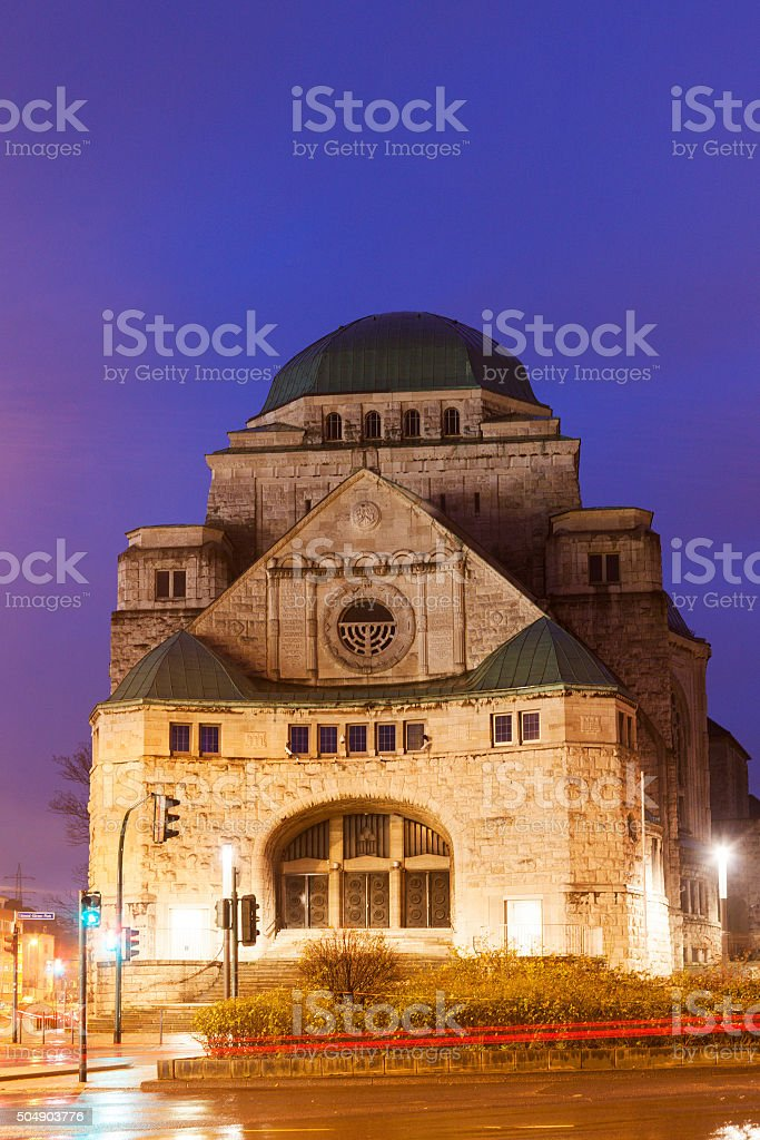 Old Synagogue in Essen stock photo