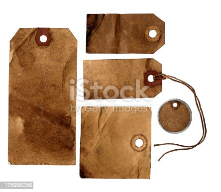 istock Old Tags 2 175996256