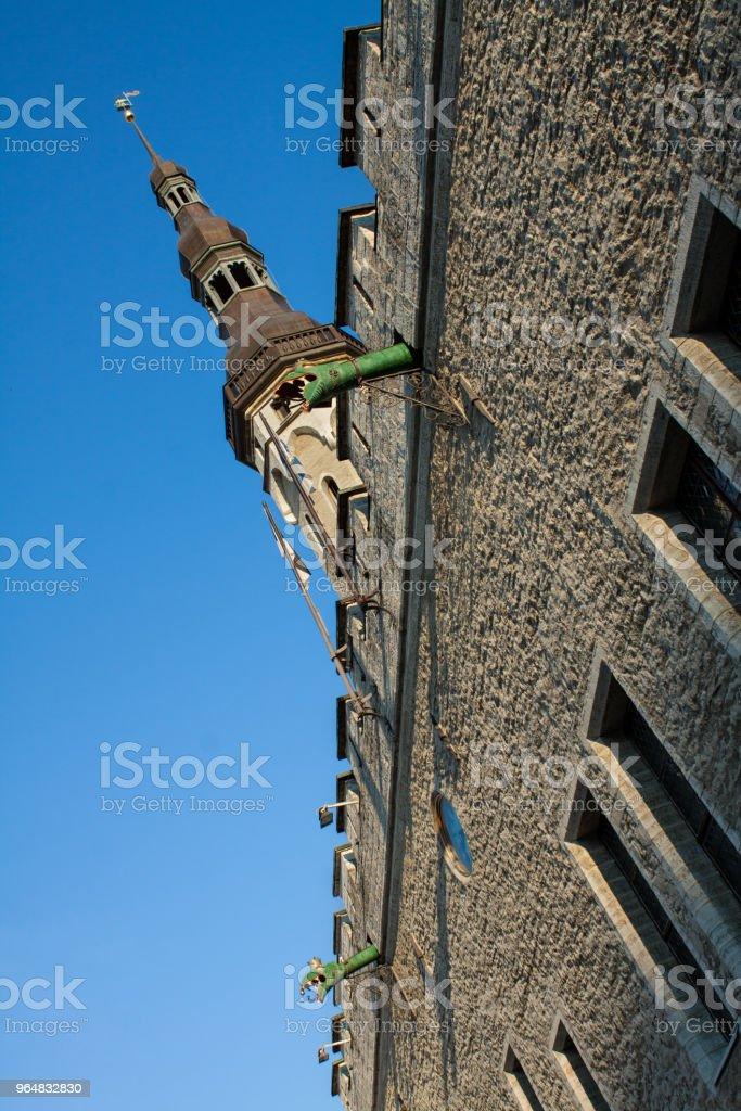 Old Tallinn Town Hall, Estonia. Europe tourist attractions. royalty-free stock photo