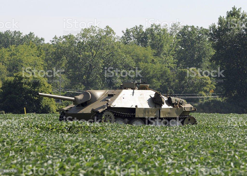 Old tank royalty-free stock photo