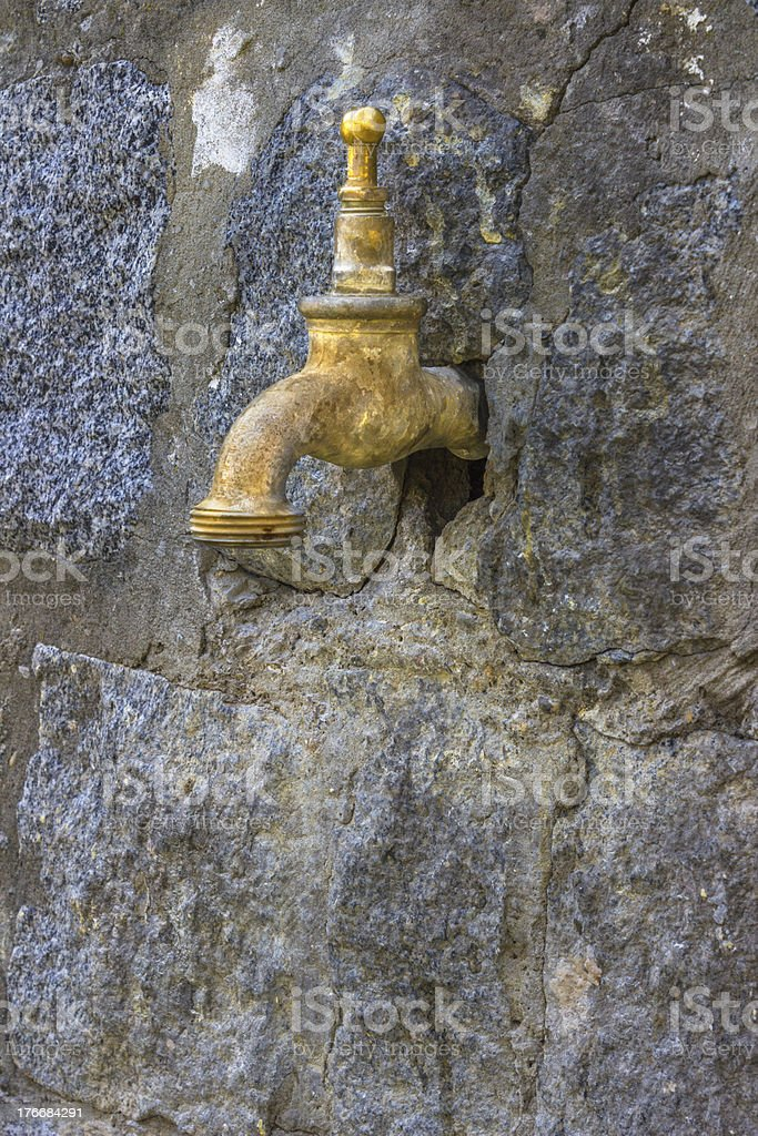 old tap royalty-free stock photo