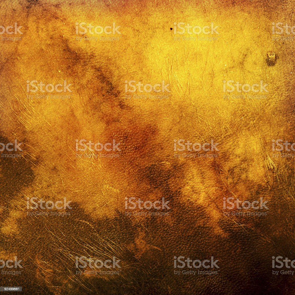 Old tattered leather royalty-free stock photo
