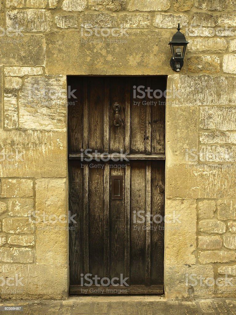 Old Tavern Doorway royalty-free stock photo