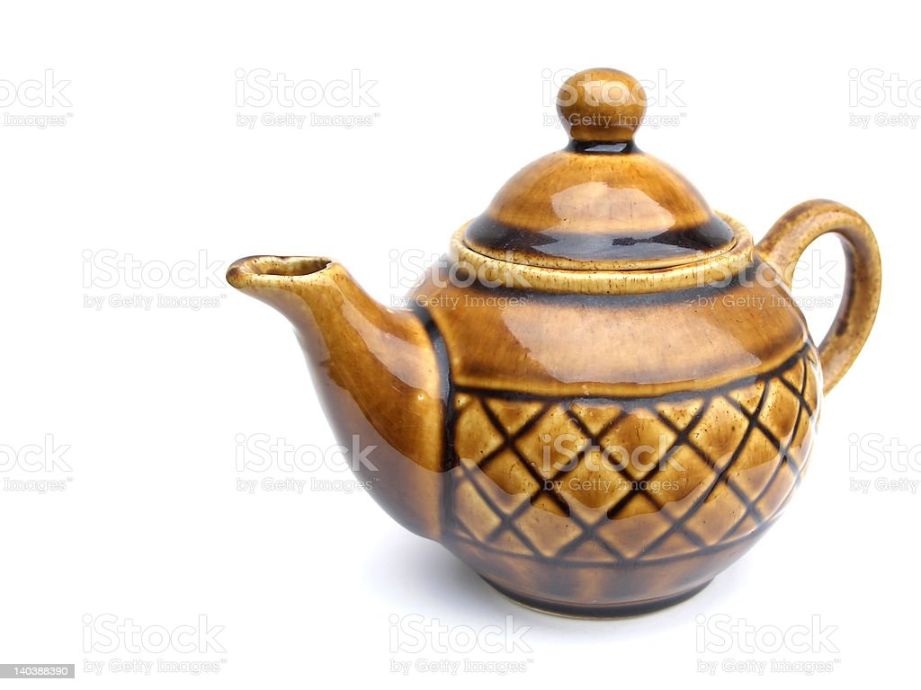 Old teapot royalty-free stock photo