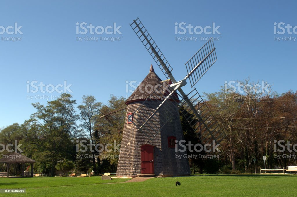 The Eastham Windmill is located in Eastham MA on Cape Cod. It is the...