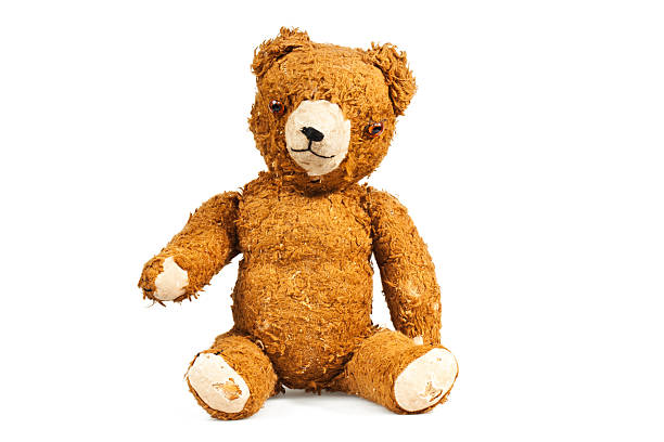 old teddy - teddy bear stock photos and pictures