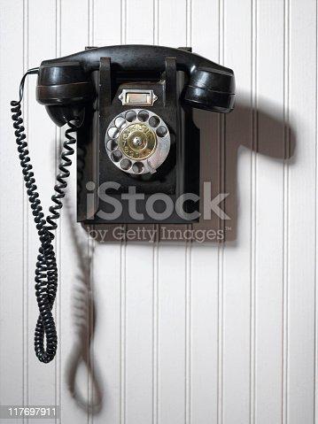 istock Old Telephone 117697911