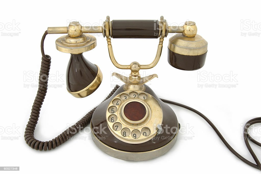 Old Telephone royalty-free stock photo