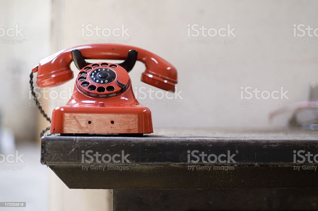 Old Telephone Series stock photo