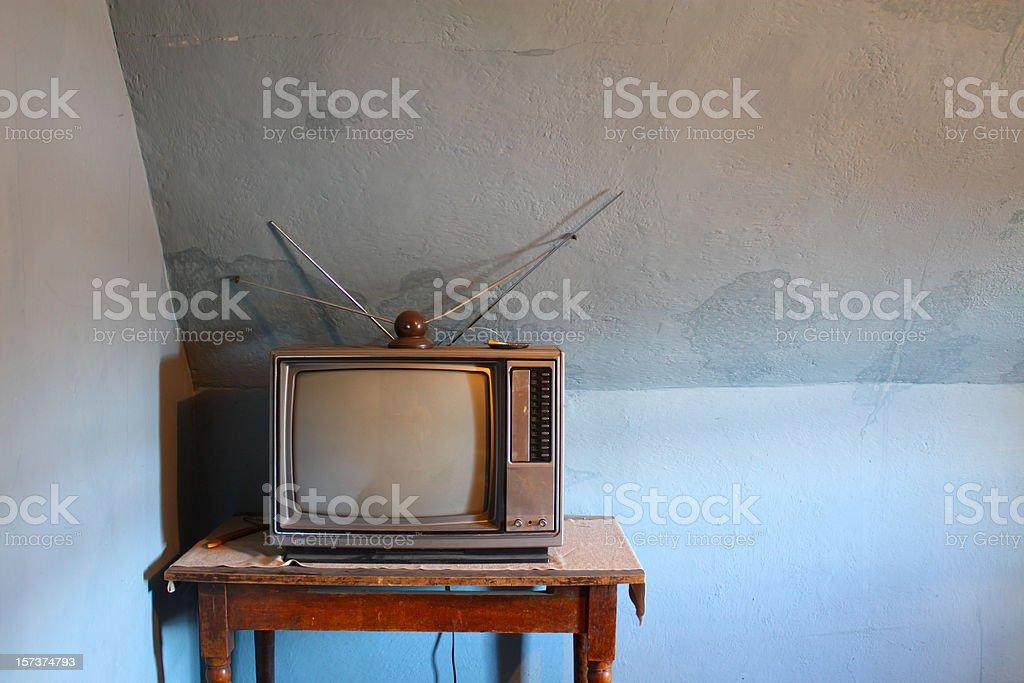 Old Television Set