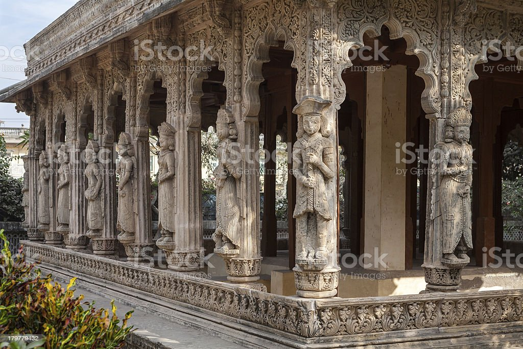 Old temple in Porbandar royalty-free stock photo
