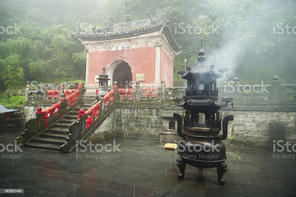 Old Temple royalty-free stock photo