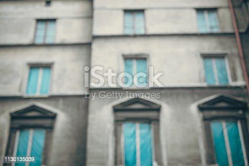 istock Old tenement house in Krakow 1130135039