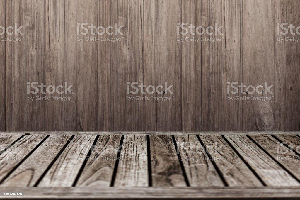 Photo Libre De Droit De Vieux Plancher De Terrasse Avec