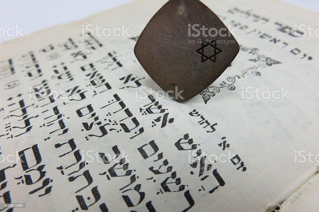 Old testament stock photo