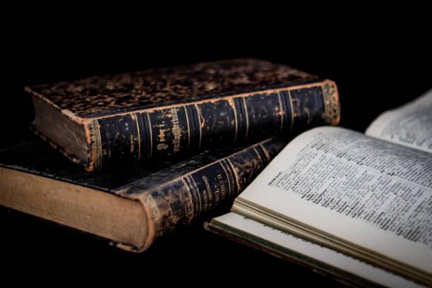 Alte Schulbücher – Foto