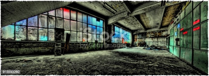 istock Old Textile Factory, Pepinster , Belgium 915593260