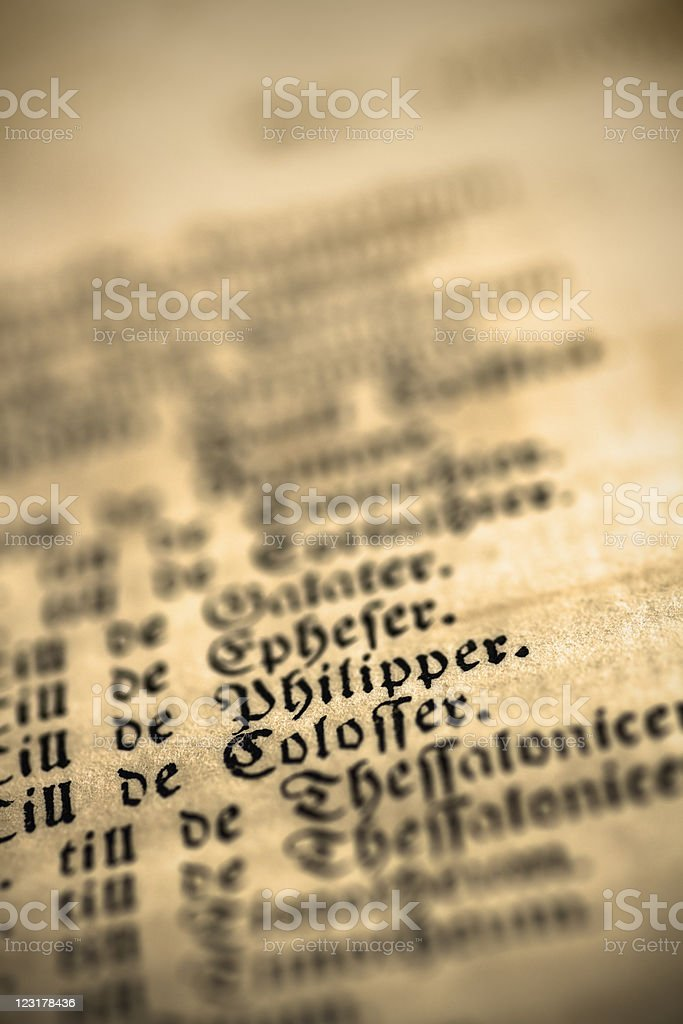 Old texts royalty-free stock photo