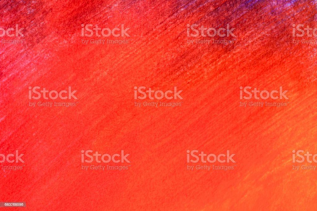 Old texture (horizontal) / Watercolour paper background for artwork in many color,red, orange and yellow foto de stock royalty-free