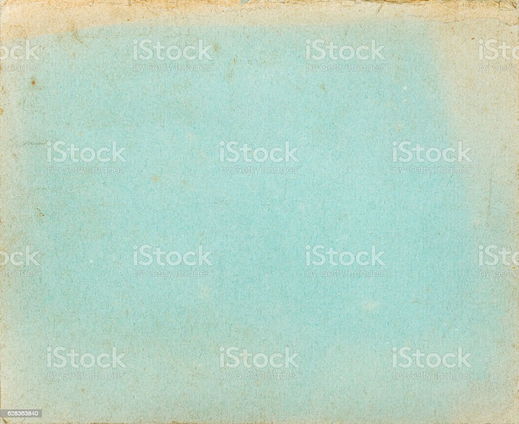 Old textured cover page with faded borders stock photo