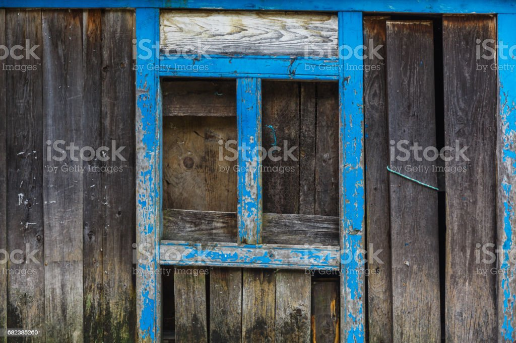 Old textured fence royalty-free stock photo