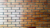 Old textured red brick wall. A photo of nice looking bricks