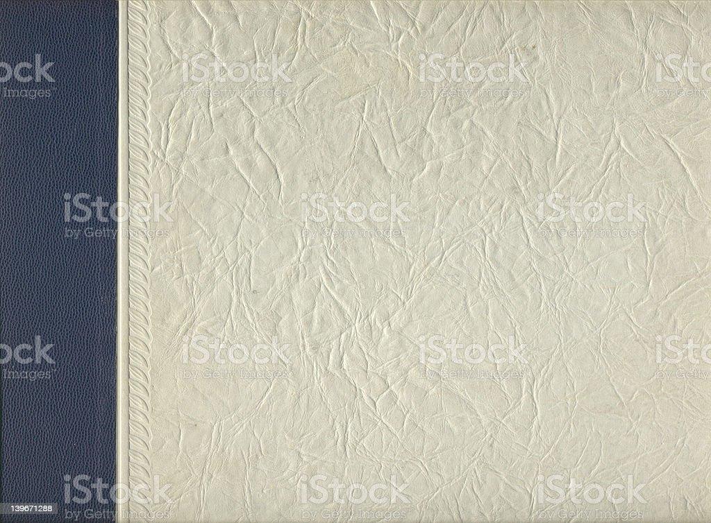 Vieux texture deux couleur Couverture de livre photo libre de droits