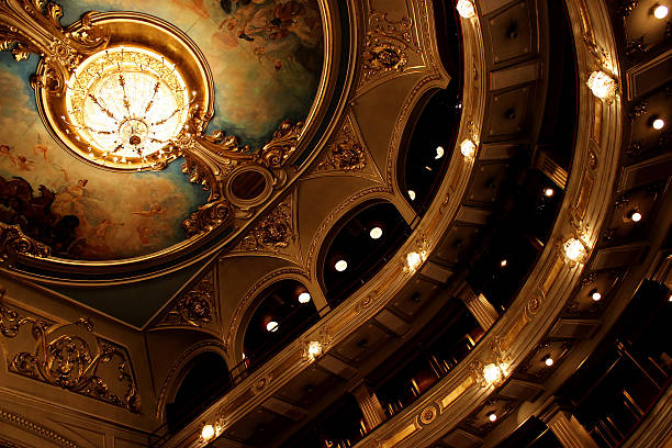 old theatre - opera stock photos and pictures