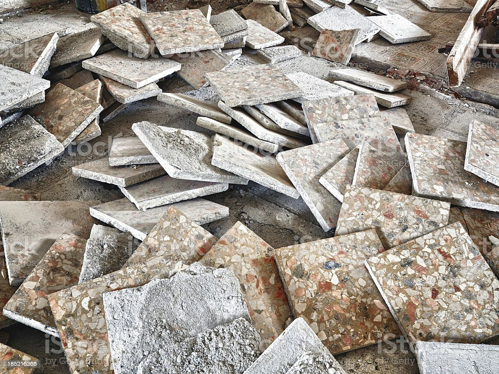 Old tile. Color Image royalty-free stock photo