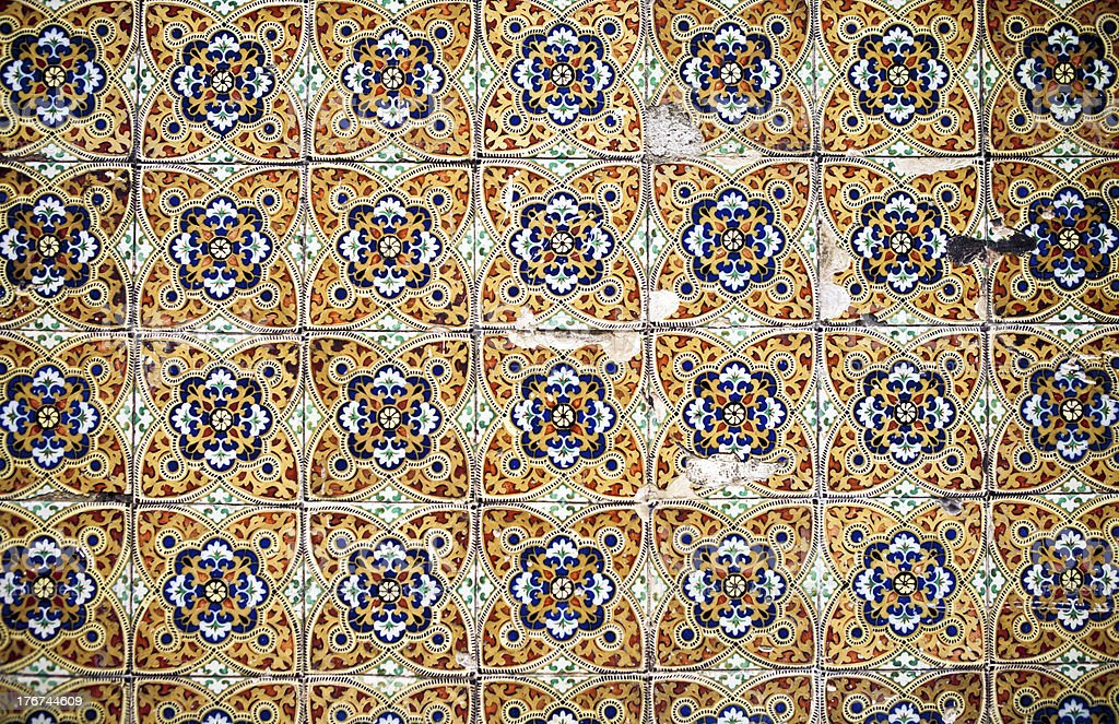 Old Tile Pattern stock photo