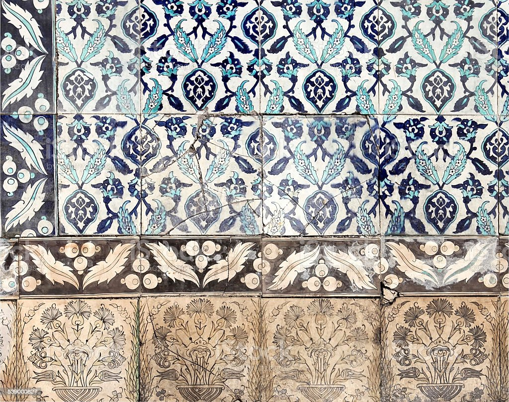 Old Tile stock photo