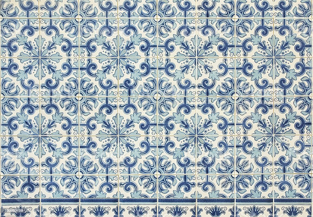 old tiles royalty-free stock photo