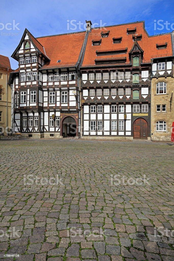 Alte Holz Häuser in Braunschweig – Foto