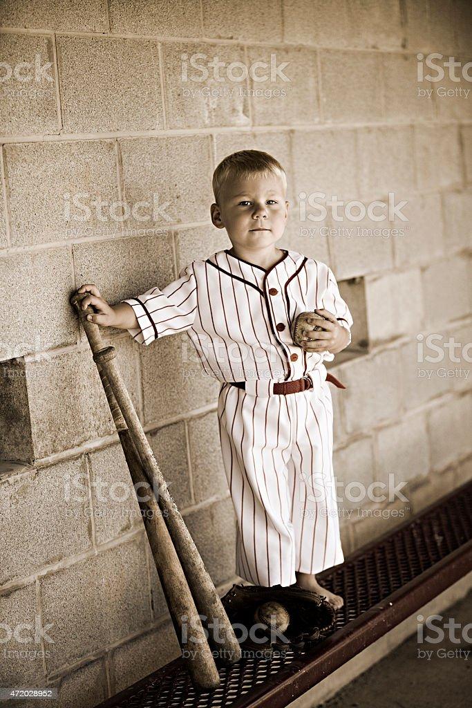Old Time Baseball. stock photo
