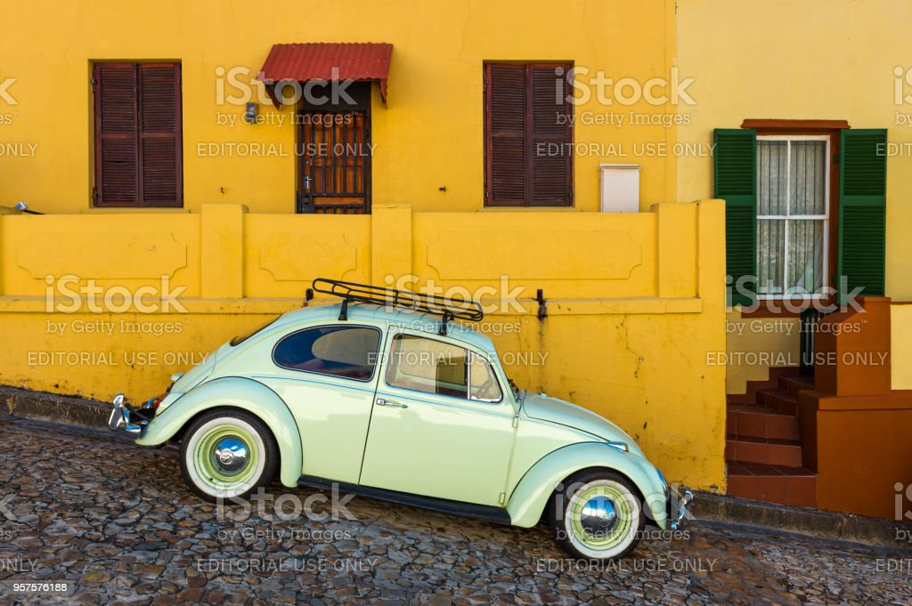 Old Timer in Cape Town stock photo