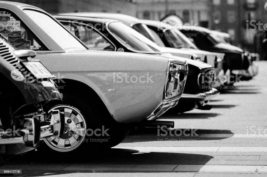 old timer vintage cars, classic stock photo
