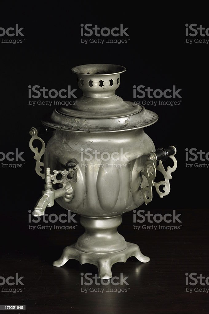 old times kettle royalty-free stock photo