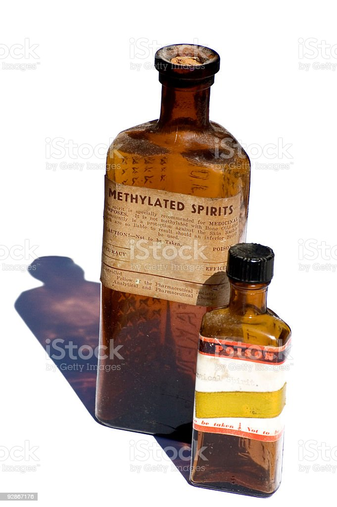 Old Times Medicine stock photo