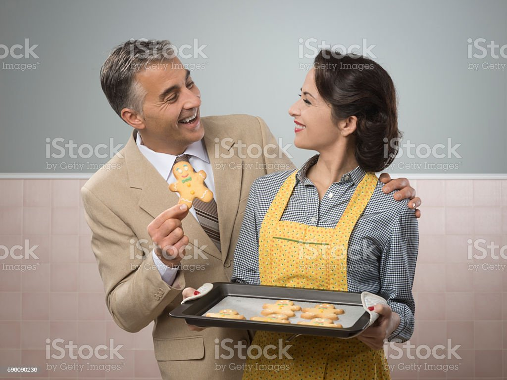 Old timey woman serving home made cookies royalty-free stock photo