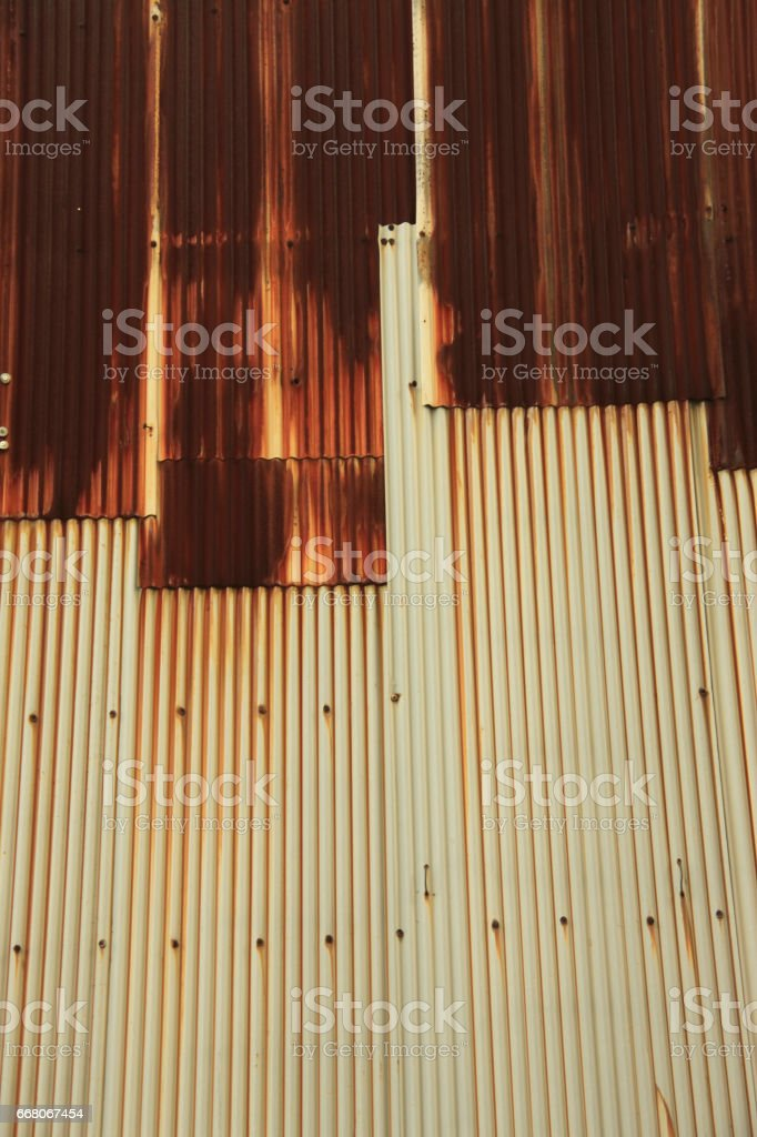 Old Tin plate. stock photo