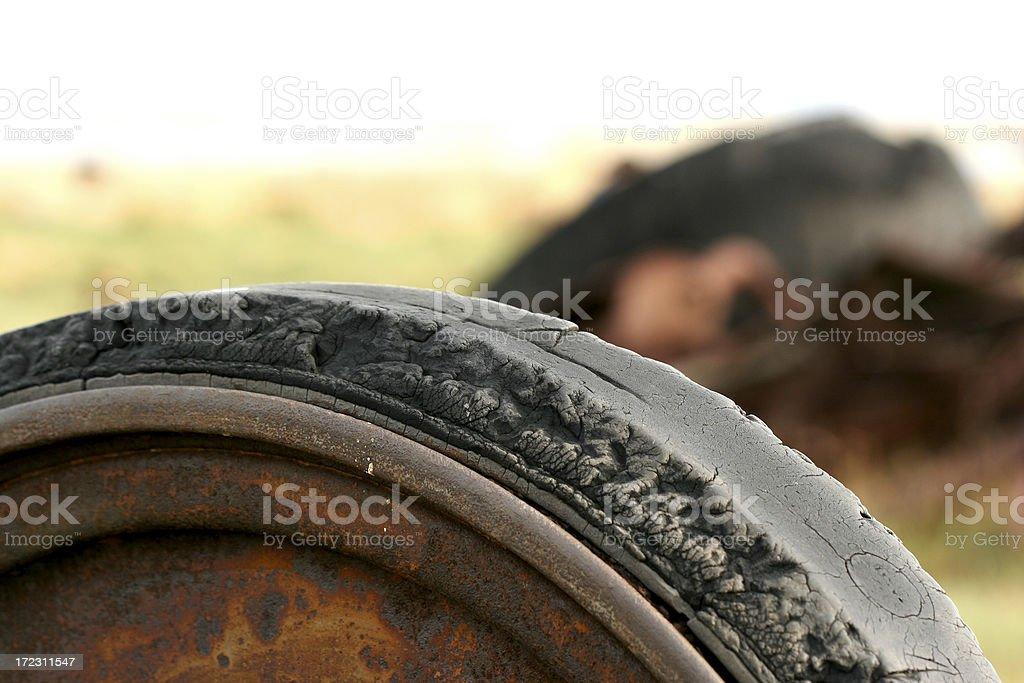Alten Reifen – Foto