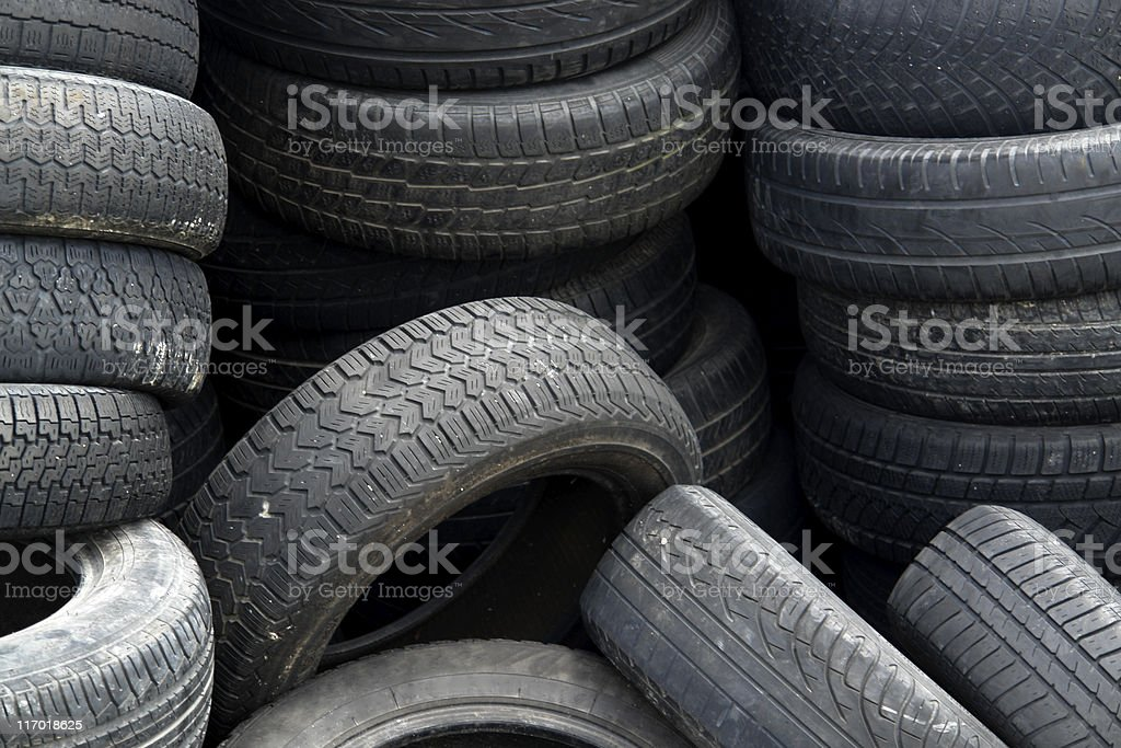 old tires detail royalty-free stock photo
