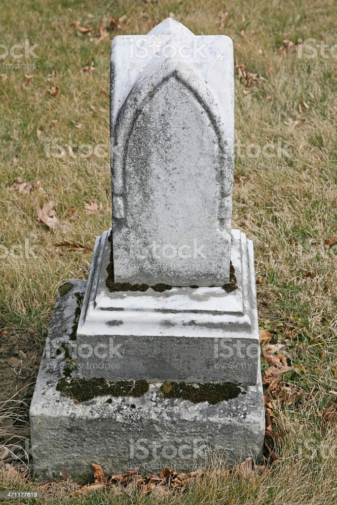Old Tombstone royalty-free stock photo