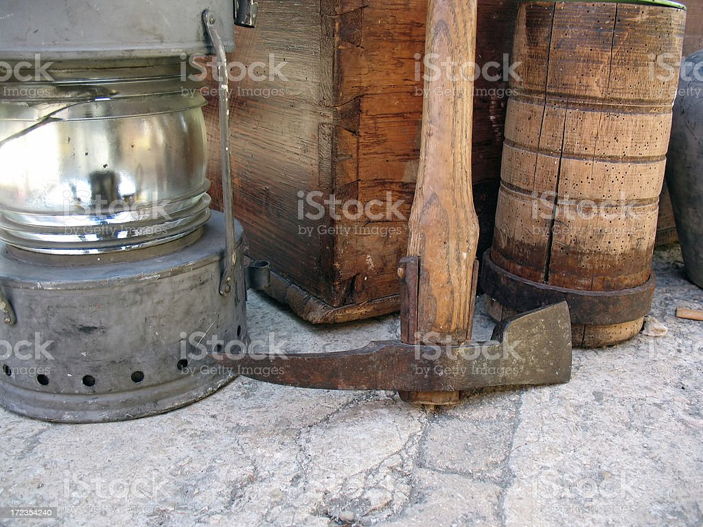 old tools royalty-free stock photo