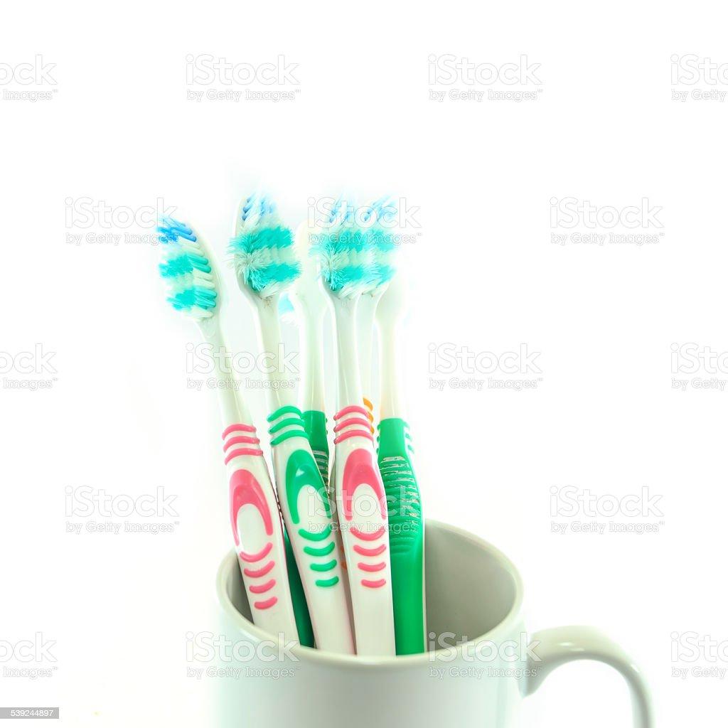 old cepillo de dientes foto de stock libre de derechos