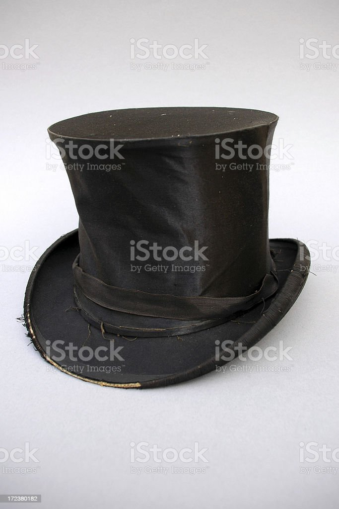 old top hat 2 stock photo
