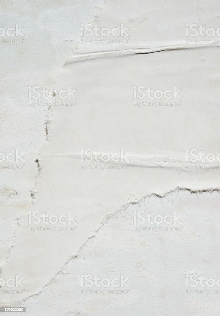 Old torn posters grunge textures and backgrounds stock photo