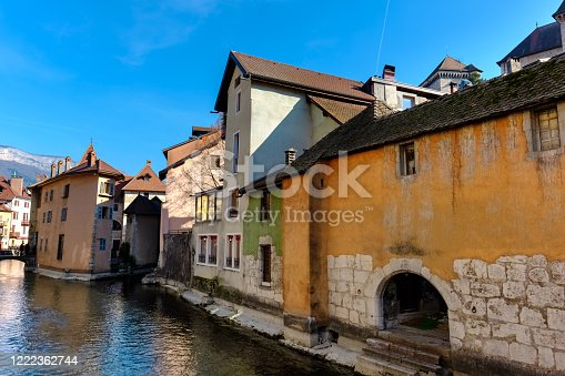 istock Old Town Annecy 1222362744