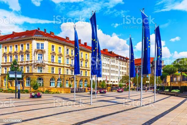 Altstadtarchitektur In Bayreuth Deutschland Stockfoto und mehr Bilder von Alt